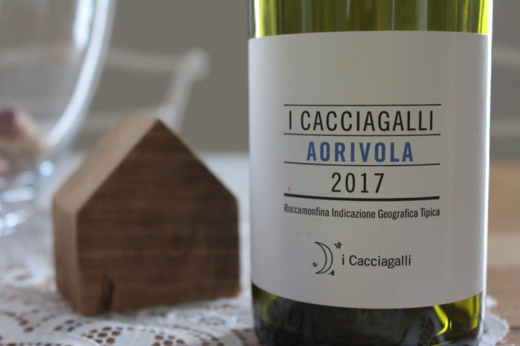 Roccamonfina IGT Falanghina Aorivola 2017, I Cacciagalli